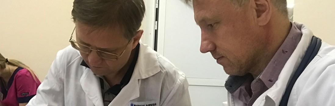 Тамбов. Консультация нейрохирурга и реаниматолога, и госпитализация в Москву. Женщина 56 лет, геморрагический инсульт.