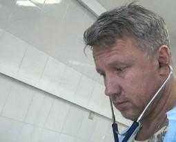 Консультация в ЦРБ г.Наро-Фоминска нейрореаниматологом пострадавшего в ДТП велосипедиста 28 лет с тяжелой ЧМТ.